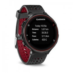 Спортивные часы FORERUNNER 235 черно-красные